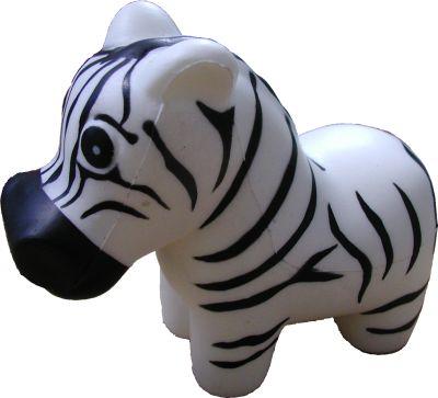 Zebra Pu stress ball