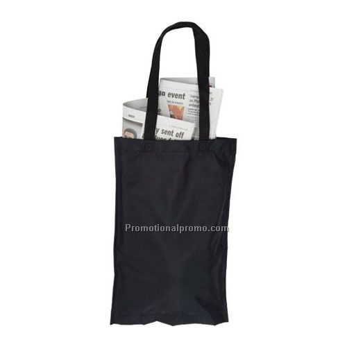 The Getaway Nylon Hotel Newspaper Bag