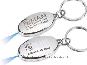 Ultra white light key chain