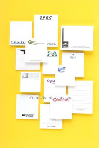 2 X 3 STICKY NOTE / PAD OF 100- 1 COLOUR