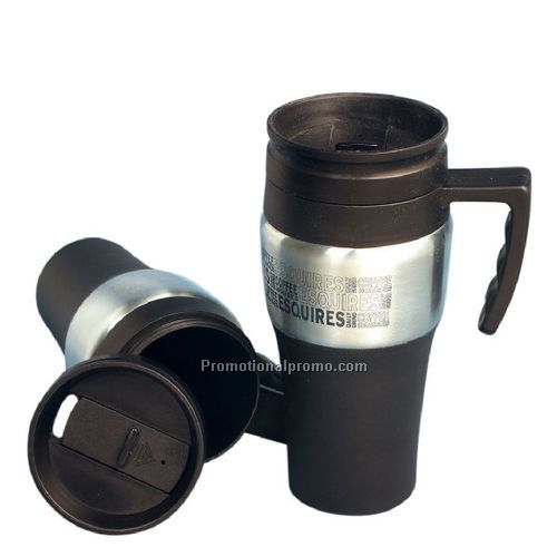 Ceramic Lined Stainless Steel Travel Mug