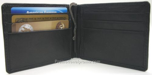 credit card holder money clip. Bi-Fold Money-Clip / amp; Credit