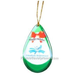 Holiday Ornaments Double Sided Imprint - 1.1 to 2 Sq. In.