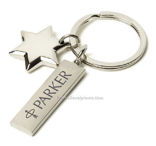 Star of David Key Charm