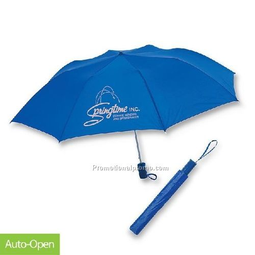 Popular blue 3 folding Umbrella