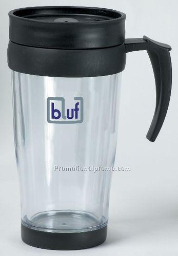 Translucent Travel Mug 16oz Clear