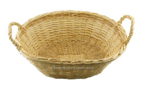 Wicker Gift Basket with Handles