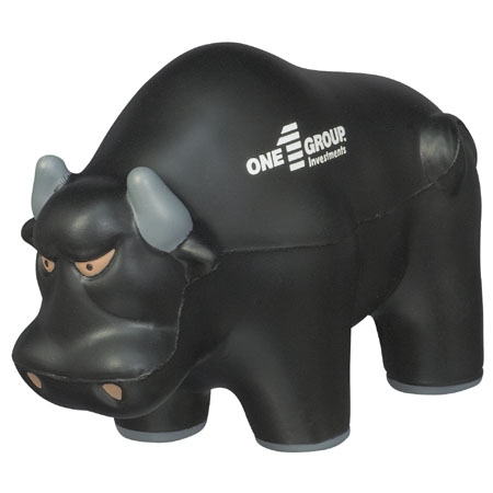 Wall Street Bull Stress Reliever