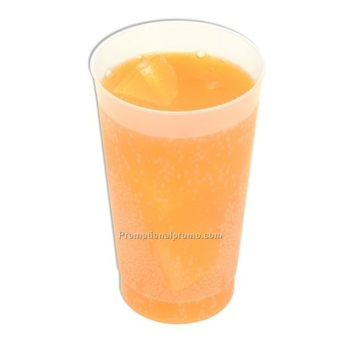 Cold drink cup holds up to 12 ounces of liquid.