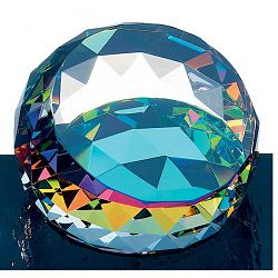 Jewel Paperweight w/ Color Underbase C-666A