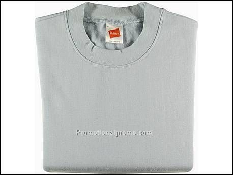Hanes Sweat Set-In Sleeve, Sky Blue