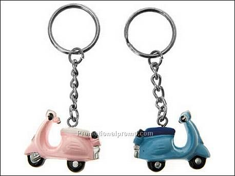 Keychain Scooter pink & blue ass.