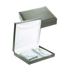 Two fold business card holder pen & key ring set