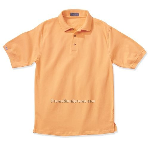 Polo Shirt - Page & Tuttle, No-Curl Collar Pique (Light Colors)