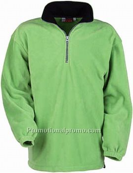 US BASIC TASO FLEECE ZIP SWEATER