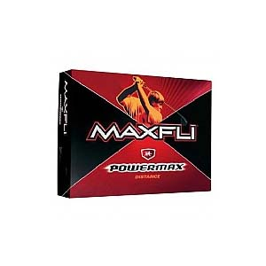 Maxfli Power MAX Distance Golf Balls (FREE Hat & 4 FREE Towels with Every Dozen!)