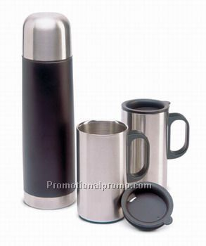 Isolation flask with 2 mugs