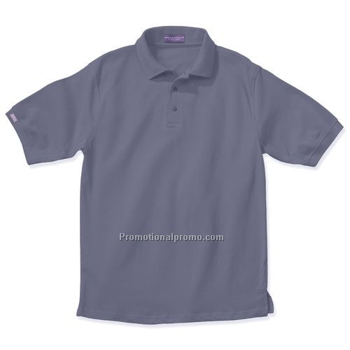 Polo Shirt - Page & Tuttle, No-Curl Collar Pique (Dark Colors)