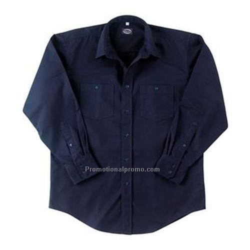 Work shirt opus long sleeve china wholesale daw50828 for Custom work shirts cheap