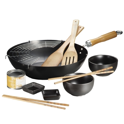 Authentically Asian Wok Set