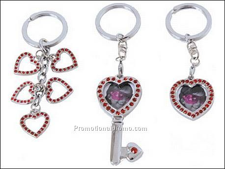 Keychain heart shaped photo frame...