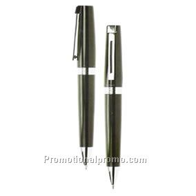 Da vinci twist action ball pen & pencil set
