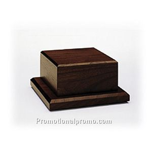 Mahogany Tone Two-Tier Wood Base - Not Routed