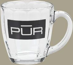 16 oz Tapered Glass Mug