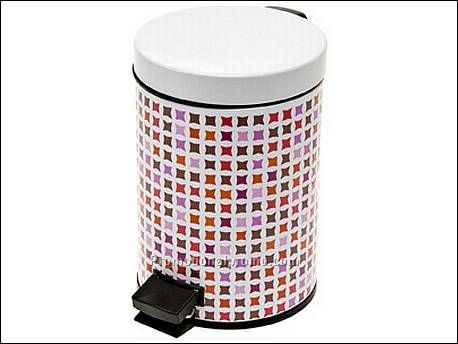 Bathroom waste bin mosaic pink china wholesale bpb59820 for Pink bathroom bin