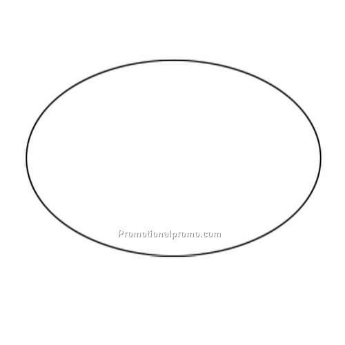 Oval shape template pictures to pin on pinterest tattooskid for Oval bumper sticker template