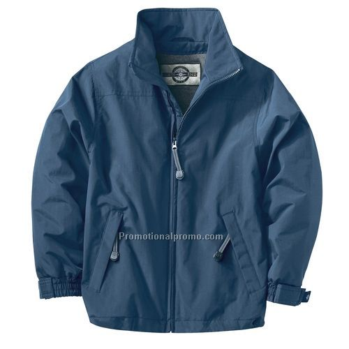 Jacket - Youth Techno Series Insulated Mid Length Jacket, Spun Polyester