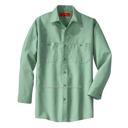 Work shirt cornerstone long sleeve industrial work china for Custom work shirts cheap