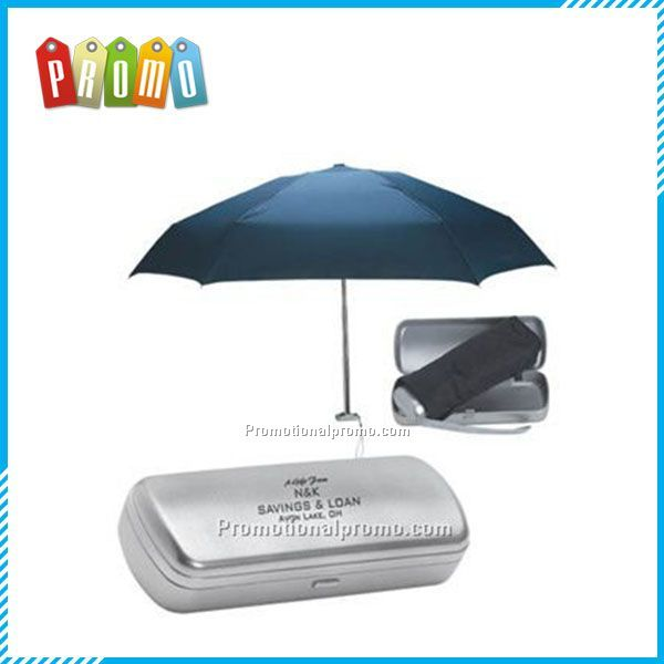 Mini 5 folded umbrella with case