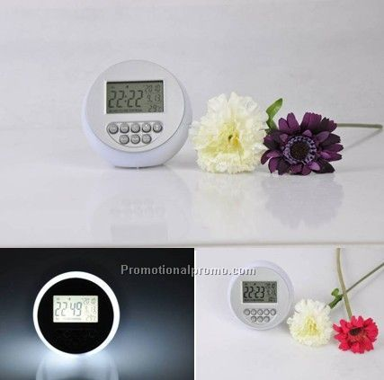 Moonlight decompression alarm clock