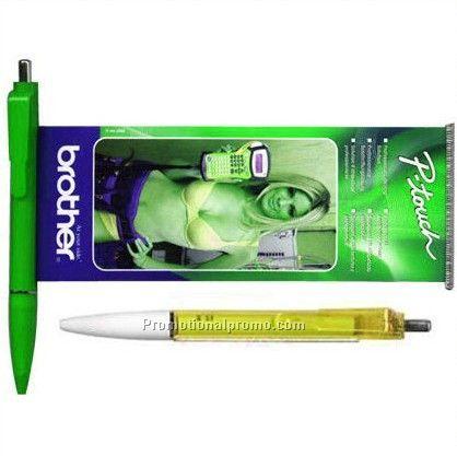 Top OEM Advertising Paper Ballpoint Pen, Flag Pen, Advertising Pens With Banner