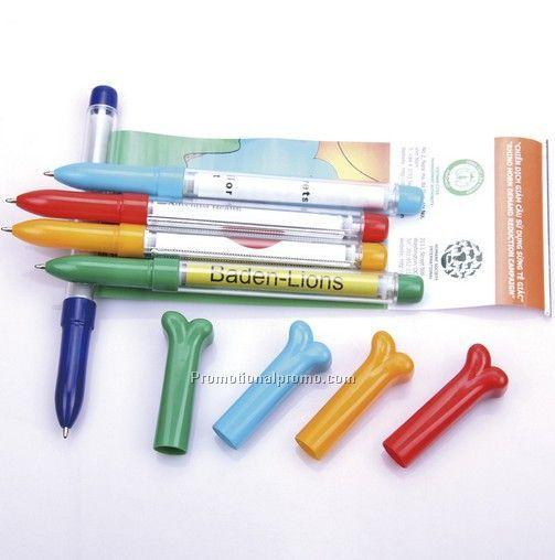 OEM Advertising Paper Ballpoint Pen, Flag Pen, Advertising Pens With Banner