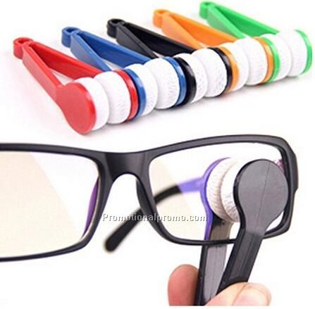 Mini Eyeglass Microfiber Cleaner Brush