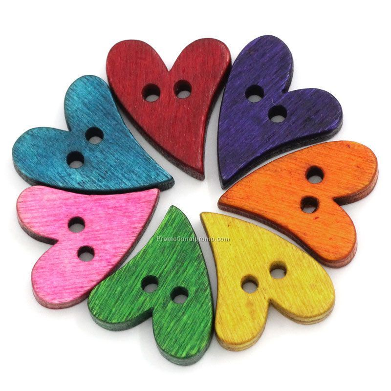 Wholesale Wood Buttons Decorative Buttons For Children