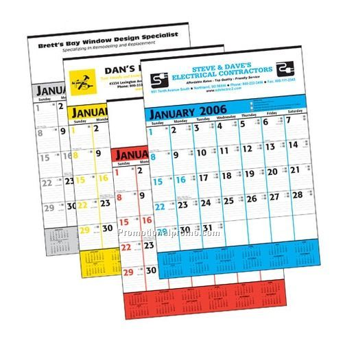 "Calendar - Commercial Planner, 18"" x 25"" China Wholesale"