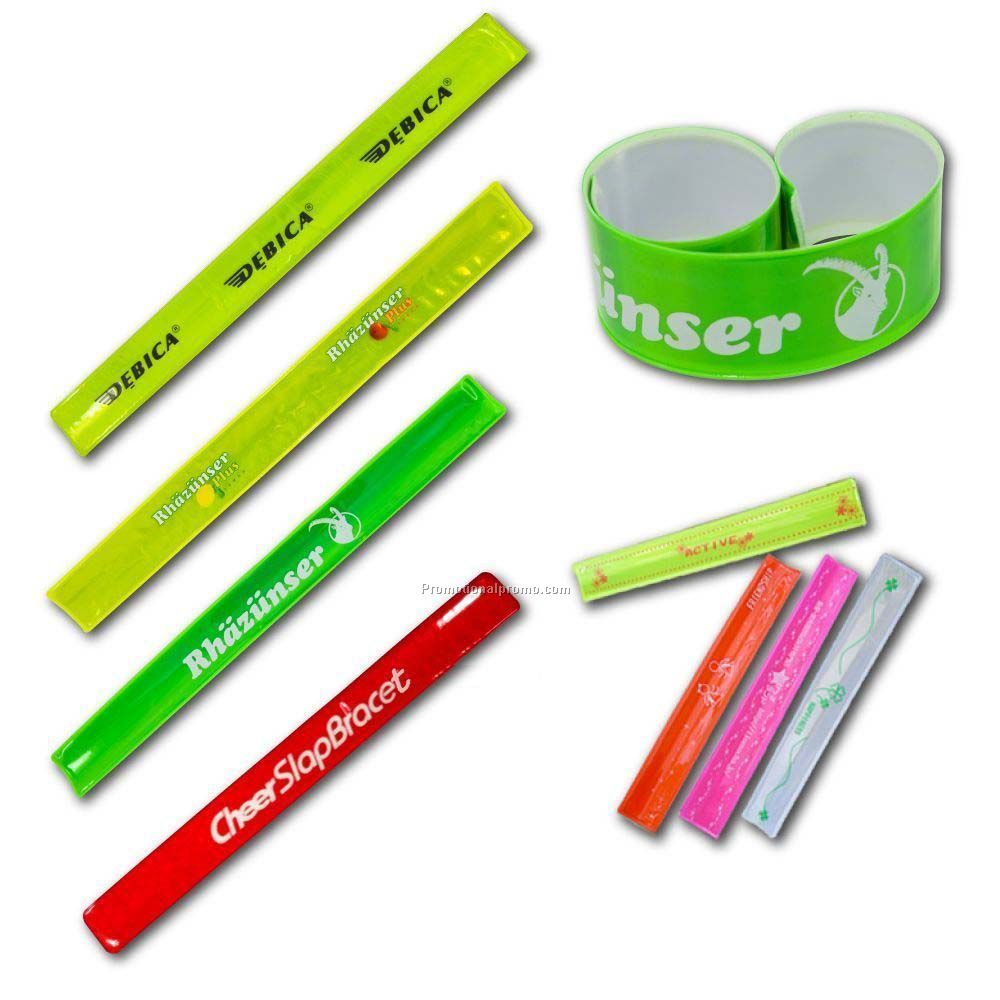 Reflective Slap Wrap, Reflective Slap bracelet