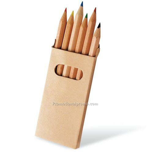 6 pieces and 12 pieces colored pencil set