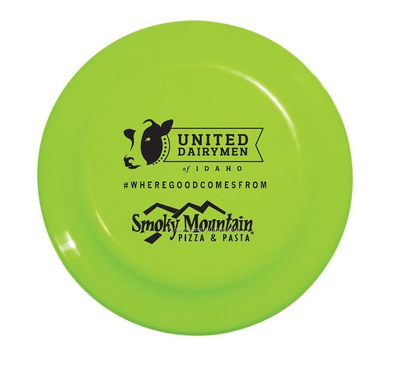 Promotional plastic 23cm frisbee