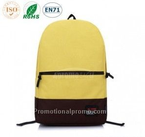 600D Two-tone Stylish School Backpack