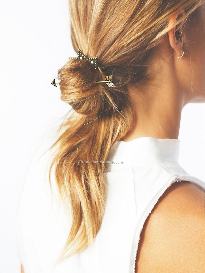 Best Gift For Women Girl Hair Accessories Fashion Bohemia Vintage Gold Color Star Hairpin