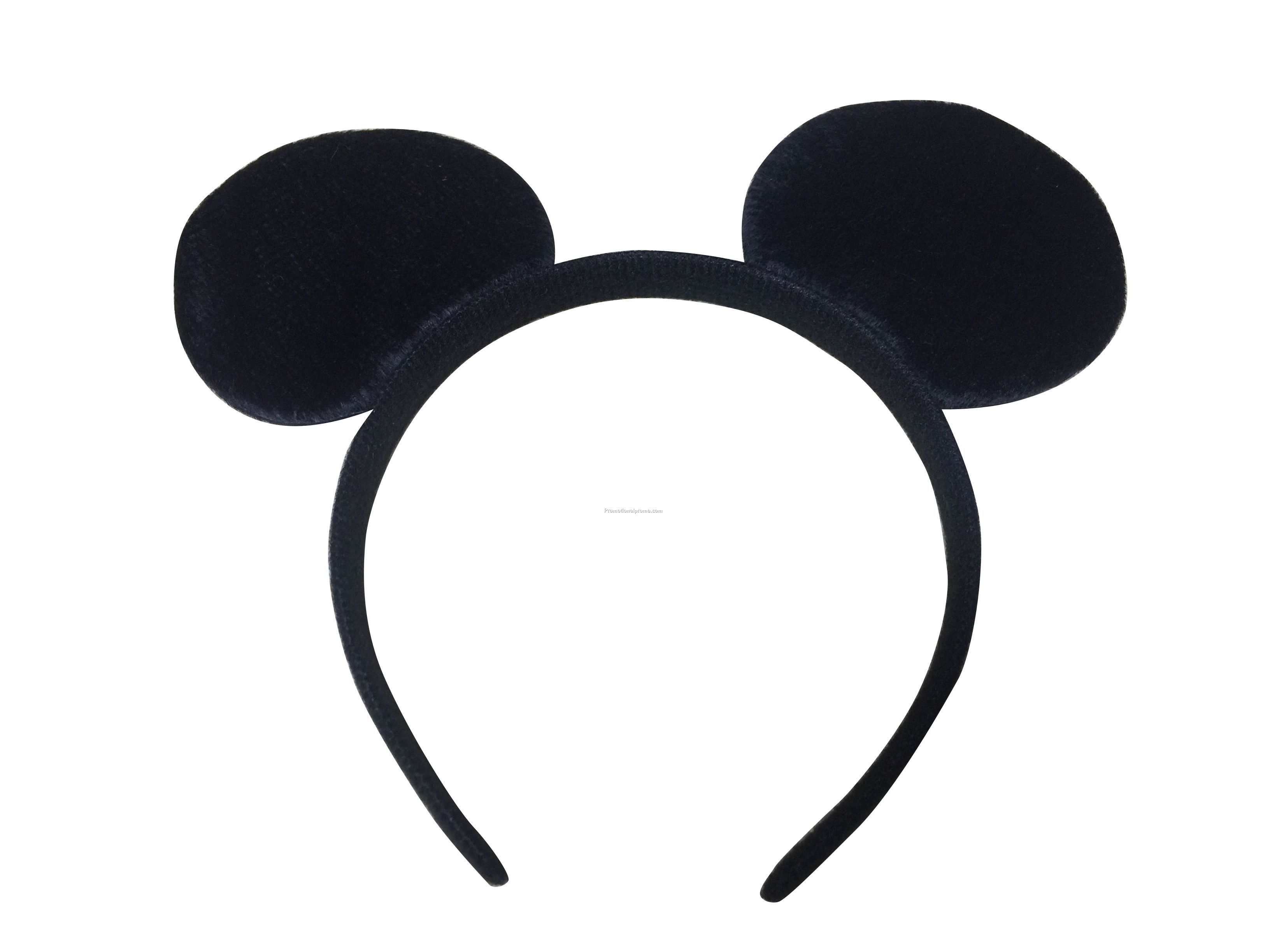 New Plastic Mickey Hair Band
