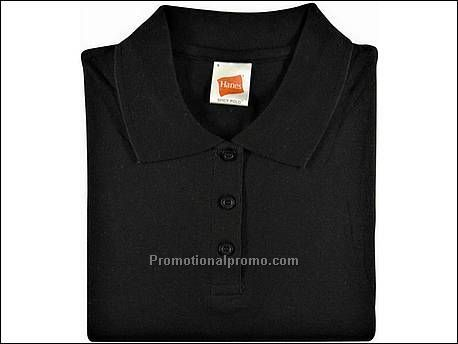 Hanes Polo Spicy, Black