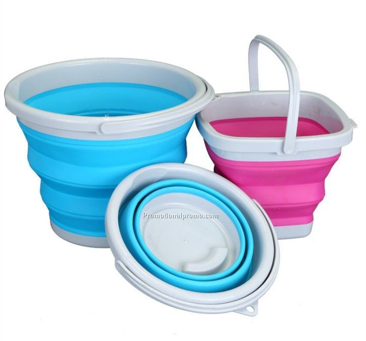 Custom Made Rubber Collapsible Bucket