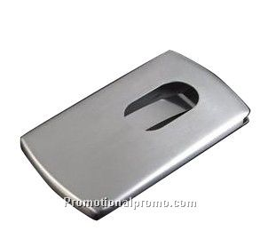 Stainless Metallic Card Holder