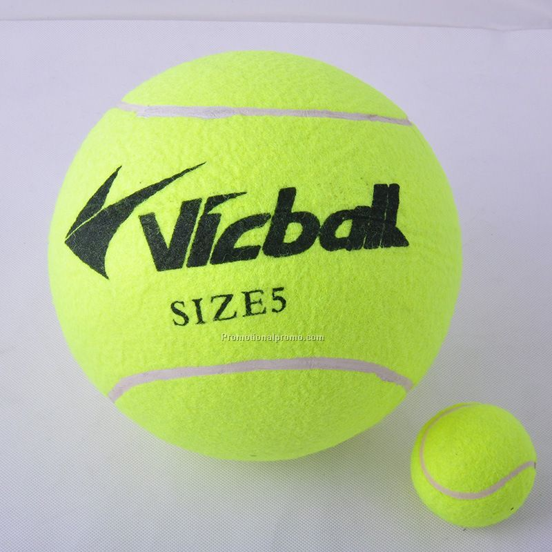 8.5 inches Rubber Inflatable Signature tennis ball