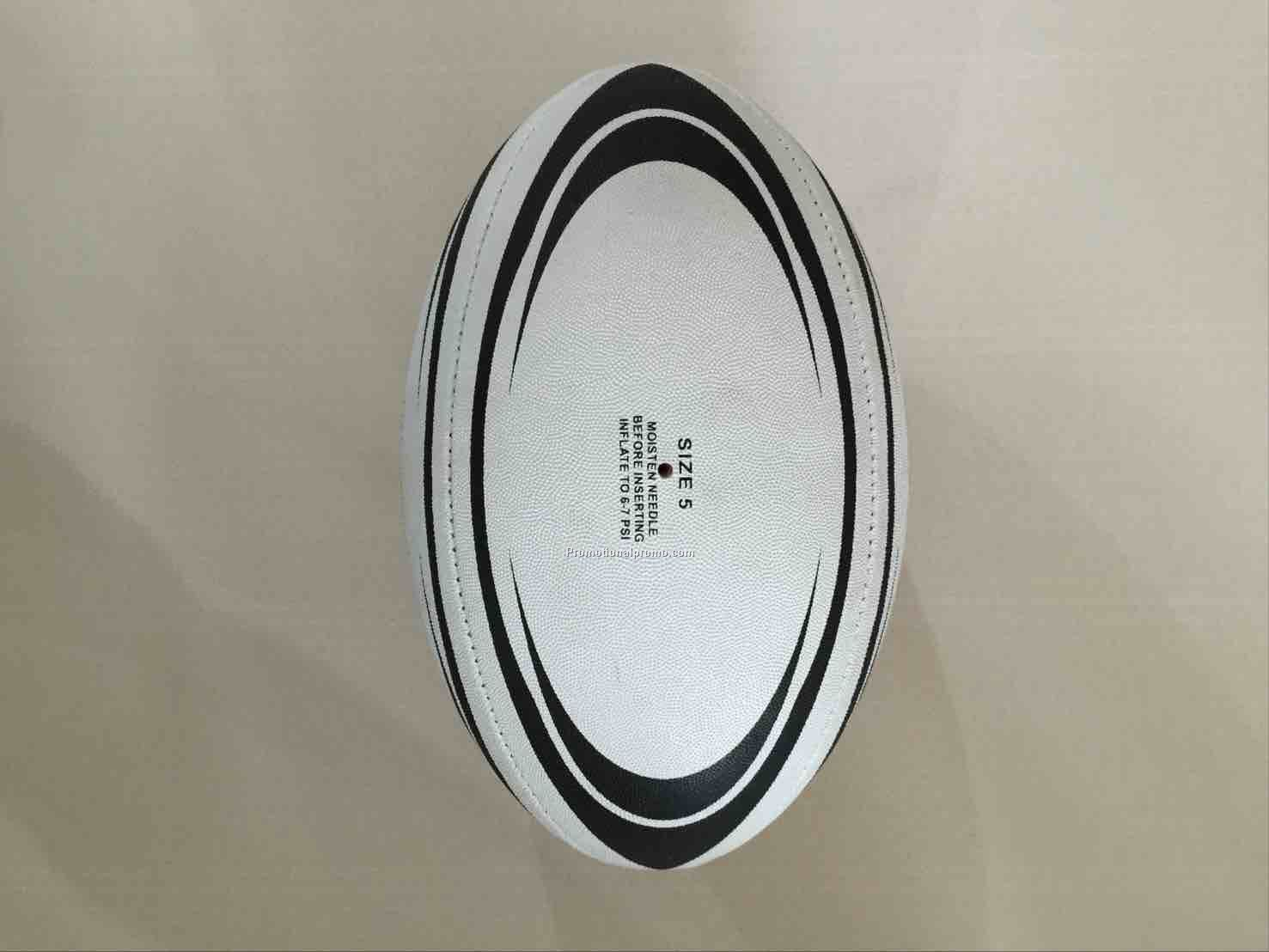 Rubber surface Rugby balls